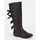 YOKIDS Bow Girls Riding Boots