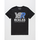 YOUNG & RECKLESS Zenith Reflective Mens T-Shirt