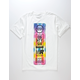 YOUNG & RECKLESS Block Party Mens T-Shirt