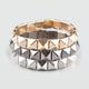 FULL TILT 3 Piece Pyramid Bracelets