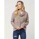 FULL TILT Cropped Turtle Neck Womens Sweater