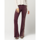 SOCIALITE Paisley Floral Womens Flare Pants