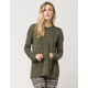 FULL TILT Heathered Knit Womens Hoodie