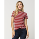 VOLCOM Down To Ride Womens Tee