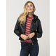 FULL TILT Faux Leather Sherpa Womens Jacket