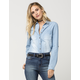 FULL TILT Denim Chambray Womens Shirt