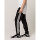 ADIDAS 3 Stripe Blackbird Mens Sweatpants