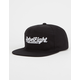 REBEL8 Script Mens Strapback Hat