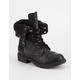 SODA Girls Combat Boots
