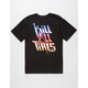 HOONIGAN Kill All Tires Pantone Mens T-Shirt