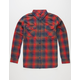 LOST Nocturne Mens Flannel Shirt