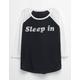 FULL TILT Sleep In Girls Raglan Tee