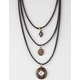 FULL TILT 3 Layer Charm Necklace