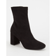 SPEED LIMIT 98 Faux Suede Womens Boots