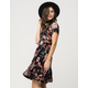 PATRONS OF PEACE Floral Wrap Dress