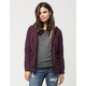 FULL TILT Twill Sherpa Womens Jacket