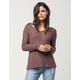 FULL TILT Open Weave Womens Sweater
