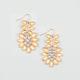 FULL TILT Facet Stone Earrings