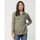LOVE FIRE Woven Womens Military Shirt