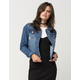 HIGHWAY Patch Womens Denim Jacket