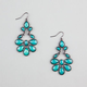 FULL TILT Facet Teardrop Earrings