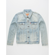 LEVI'S Buckman Destructed Trucker Mens Denim Jacket