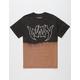 WAVY Rock Bleach Mens T-Shirt