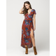 BILLABONG Wrap Me Up Maxi Dress