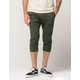 CRASH Mens Crop Jogger Pants