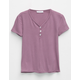 FULL TILT Girls Baby Doll Henley