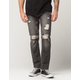 CHARLES AND A HALF Destructed Mens Slim Straight Jeans