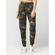 REWASH Camo Womens Rayon Pants