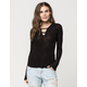 FREE PEOPLE Bae Bae Womens Top