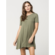 BILLABONG Lost Heart Tee Dress