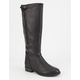 SODA Back Zip Womens Riding Boots