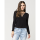 FULL TILT Criss Cross Womens Top