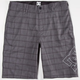 DC SHOES Lanaibrid Mens Hybrid Shorts