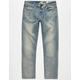 VOLCOM Solver Mens Modern Straight Jeans