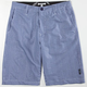 LOST Seasucker Mens Hybrid Shorts