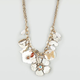 FULL TILT Flower/Butterfly Necklace