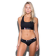 ETHIKA The Black Solid Sports Bra