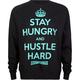 MIGHTY HEALTHY Hustle Hard Mens Sweatshirt