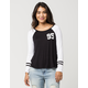 FULL TILT 95 Womens RaglanFootball Tee