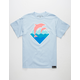 PINK DOLPHIN Waves Mens T-Shirt