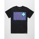 PINK DOLPHIN Flag Mens T-Shirt