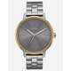 NIXON Kensington Silver & Gold Watch