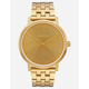 NIXON Porter Gold Watch