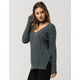 FULL TILT Essential V-Neck Womens Sweater