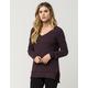 FULL TILT Essential V-Neck Womens Sweater