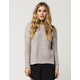 FULL TILT Essential Scoop Neck Womens Sweater